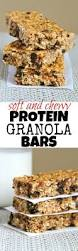 Are Kashi Pumpkin Spice Flax Bars Healthy by Soft And Chewy Protein Granola Bars Recipe Healthy Homemade