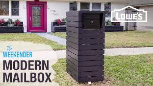 100 Letterbox Design Ideas DIY Custom Mailbox YouTube