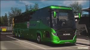 Scania Touring Bus & Skinpack + DLC Ready   Euro Truck Simulator 2 ...