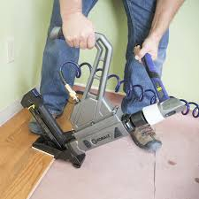 Hardwood Flooring Nailer Home Depot by Awesome Installing Real Hardwood Floors How To Install Hardwood
