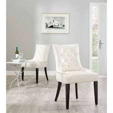 100 Black Leather Side Dining Chairs Safavieh Abby Bicast Chair Set Of 2 Walmartcom