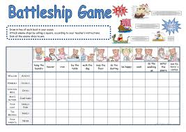 61 FREE ESL Battleship Worksheets