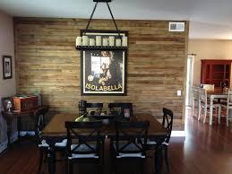 Dining Room Pallet Wall