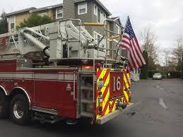 100 Truck Flag Mount Redmond Washington USA Everyone Needs A Firetruck To Mount