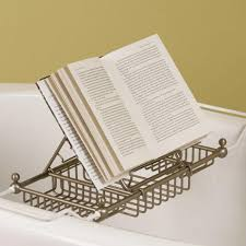 Bamboo Bathtub Caddy With Reading Rack by Reading Rack For Eubank Tub Caddy Bathroom