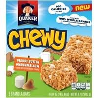 Quaker Chewy Peanut Butter Marshmallow Granola Bars