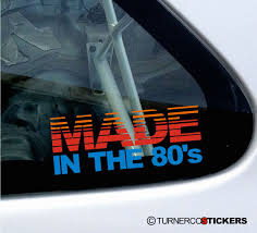 Made In The 80s Classic Retro Theme Car Truck Sticker Decal Boat Wrap Graphics Car Decals Wraps Boat Cars Custom Truck Stickers For Trucks For Guys Florida Man Claims Assault Prompted By Pair Of Jeep Wrangler Hood Vinyl Decals Cj Tj Jk 4x4 Companion Heart Cube Car Laptop Sticker Decal 5 Amazoncom Large Under Armour Fish Hook American Flag Back Window Murica Stickit Slammed Ford Ranger Single Cab Sticker 25 X 85 Black Stickers Hood Racing Stripe Truck Decals And Stickers