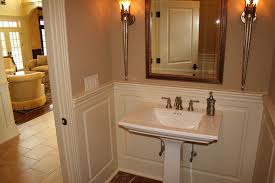 Small Bathroom Wainscoting Ideas by Wainscoting Raised Panel Bathroom Connecticut Ct Wainscoting