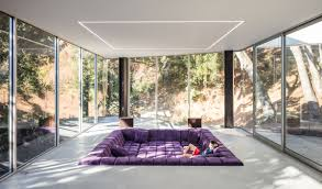 100 Glass Walled Houses Minimalist House With Sunken Living Room IDesignArch