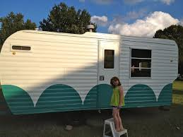 Vintage 1960 S Camper Redo Home Decor Improvement Repurposing Upcycling Done