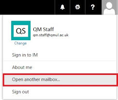 Open and add a shared mailbox in fice 365 IT Services
