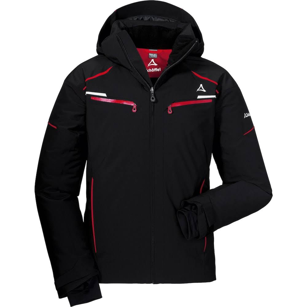 Ski Jacket Schöffel Men St Anton2 Black-Size 52