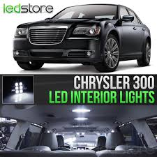 2011-2017 Chrysler 300 White Interior LED Lights Kit Package – Ready ...