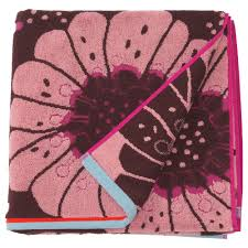 sandvilan badetuch rosa bunt weiche handtücher