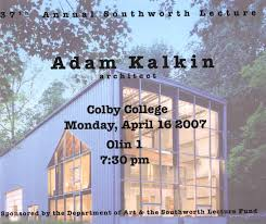 100 Adam Kalkin Architect Art Department Colby College