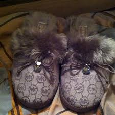 michael kors authentic michael kors house slippers from