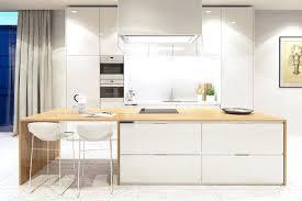 cuisine bois blanchi cuisine bois blanc cuisine bois et blanc moderne ides damnagement