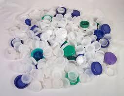 Plastic Bottle Caps Lot 300 Pcs Art Craft Supplies Water Juice Milk Lids