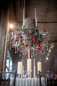 Winter Tablescape Inspiration From A Big To Do Event Wedding DecorationsWinter