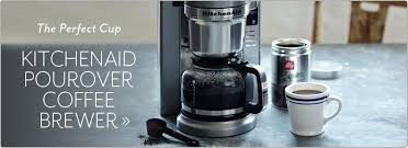 Kitchenaid Coffee Filters The Perfect Cup Brewer Maker Kcm1202ob Manual Filter