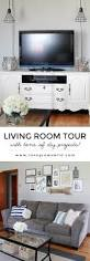 Living Room Makeovers Diy by Living Room Tour Love Grows Wild
