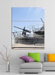 de acrylglasbilder 3 teilig 100x120cm uboot u boot