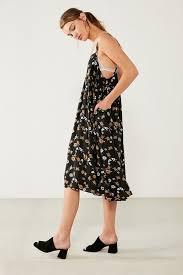 Kimchi Blue Fleur Babydoll Floral Midi Dress