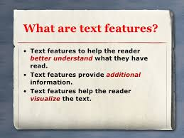 Text Features 1 2010