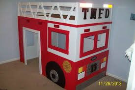 100 Fire Truck Loft Bed Ana White Truck DIY Projects