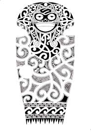 Wonderful Maori Tattoo Design For Arm