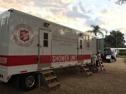 The Salvation Army Deploys Shower Unit To DeSoto County, Florida
