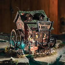 Dept 56 Halloween Village by 56 Skeletons My Department 56 Halloween Village