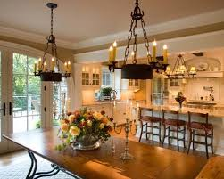 Harmonious Open Kitchen To Dining Room by Kitchen Dining Combo Houzz