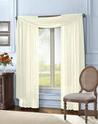 Searsca Sheer Curtains by Voile Sheer Rod Pocket Window Curtain Panel Www Bedbathandbeyond