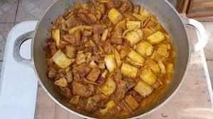 cuisiner coeur de porc carry de porc aux coeurs de palmiste colipays le
