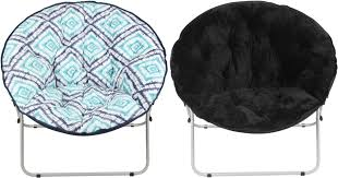 Cheap Saucer Chairs For Adults by Walmart Com Mainstays Oversize Saucer Chairs Only 19 97