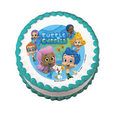Bubble Guppies Cake Toppers by Bubble Guppies Safari Cake Boutique