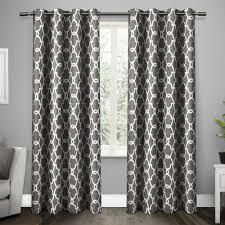 geometric pattern curtains canada blackout curtains you ll wayfair ca