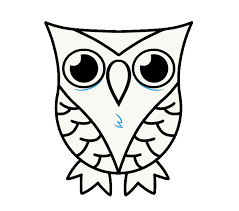 How To Draw Owl Step 10
