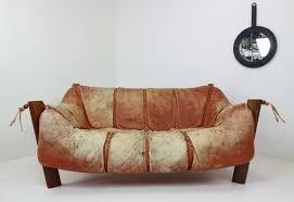 Percival Lafer Brazilian Leather Sofa by Percival Lafer 5 Vintage Design Items