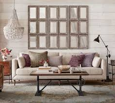 Pottery Barn Grand Sofa Dimensions by Tallulah Upholstered Sofa Collection Pottery Barn