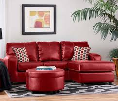 sofa small red leather sofa sectional red leather furniture for