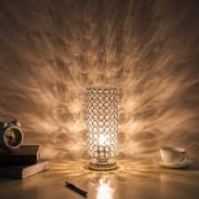 Crystal Table Lamps For Bedroom by Zeefo Crystal Table Lamp Sturdy Decorative Room Lamp Night Light