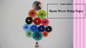How To Make A DIY Amazing Room Decor Using Paper