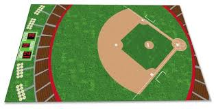 baseball field rug contemporary rugs by kidcarpet