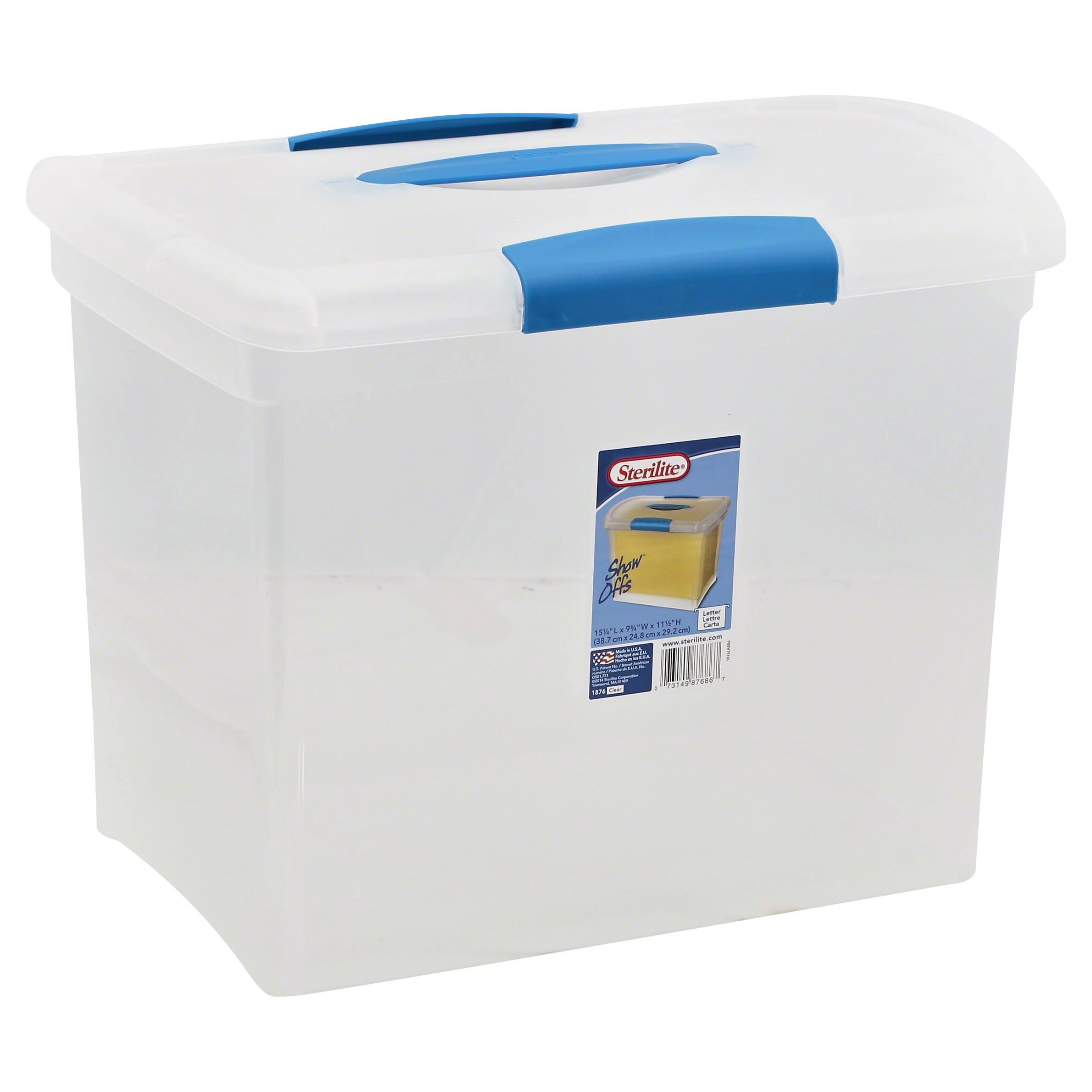 Sterilite Corporation Showoff Storage - Large