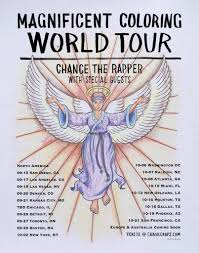 Chance The Rapper Just Announced Magnificent Coloring World Tour