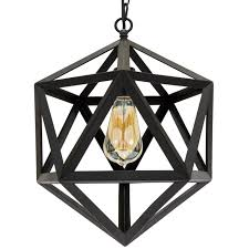 Best Choice Products 12in Industrial Wrought Iron Chandelier Light Fixture For Home Dining Room
