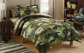 Amazon Mainstays Kids Camoflauge Coordinated Bedding Set