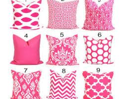 PINK PILLOWS Decorative Pillow Cover Pink Throw Pillow